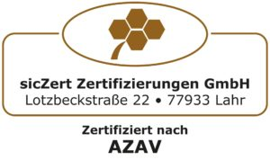Logo von Überwachungszeichen AZAV