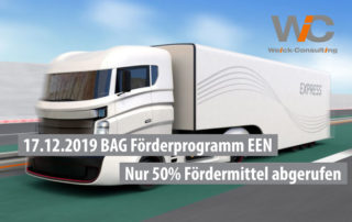 BAG Förderprogramm EEN CO2-arme LKW