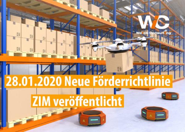 Neue Förderrichtlinie ZIM - innovatives Hochregallager mit Drohnen