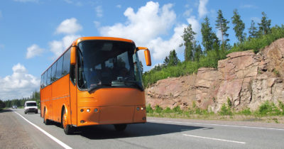 Abbiegeassistent-Bus