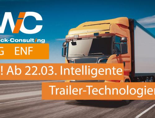 "23.03.2021 BAG Förderung ""Intelligente Trailer-Technologien"" (ITT) erfolgreich gestartet !"
