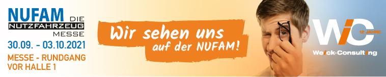 Treffen Sie das Weick-Consulting Team auf der NUFAM Messe Karlsruhe. Vom 30.09 bis 03.10201. Vor Halle 1 Messe Rundgang
